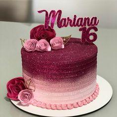 16th Birthday Cake For Girls, Army Birthday Cakes, Birthday Cake For Women Simple, Yellow Birthday Cakes, Birthday Cake Roses, Elegant Birthday Cakes, Chocolate Birthday Cake Decoration, Birthday Cake Decorating, Beautiful Cake Designs