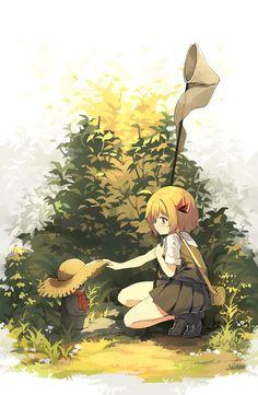 東方 Touhou Kawaii Anime Girl, Anime Girls, Anime Chibi, Cute Girl Illustration, Anime Artwork, Anime Scenery, I Love Anime, Manga Art, Game Art