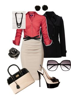 """Office Time"" by maryfer99 on Polyvore"