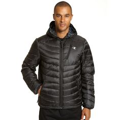 Champion Men's Tall Packable Performance Jacket With Reactive Fill
