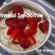 The Harcombe Diet® by Zoe Harcombe Clean Eating, Healthy Eating, Oatmeal Smoothies, Fruit Salad, Spices, Strawberry, Diet, Breakfast, Recipes