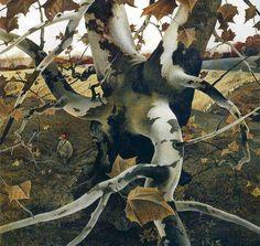 Andrew Wyeth 'The Hunter' 1943