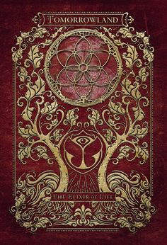 Tomorrowland 2016 Elixer Of Life Artwork Deed of Life Flower of Life Tree of Life