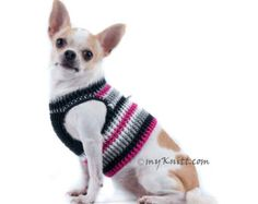 Cebador arnés chaleco algodón suave Chihuahua ropa para perros