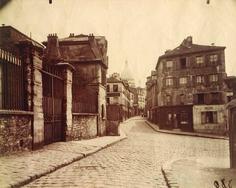 Eugene Atget, Montmartre, (Rue Norvins), c. 1905