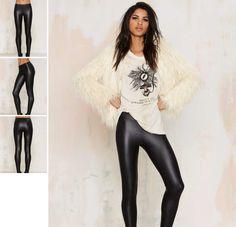Colanti Imitatie Piele Leather Pants, Model, Fashion, Leather Jogger Pants, Moda, Fashion Styles, Lederhosen, Scale Model