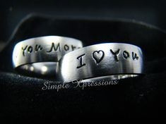**ORDERS PLACED BETWEEN OCT 11 - OCT 25 WILL SHIP ON OCT 26TH**  Listing is for 2 - 6mm Brushed Stainless Steel Rings. Perfect for Couples Rings, Engagement Rings, Promise Rings or even Wedding Rings!  All rings are made of the highest quality stainless steel and will not fade, tarnish or stain your skin. Stainless Steel is also a very durable metal that can stand up to wear and tear.  - Comfort Fit - 6mm Width - Stainless Steel - Brushed Finish - Each ring is shipped in a nice Black Velvet…