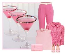 """""""pnkdrink"""" by bodangela ❤ liked on Polyvore featuring Vionnet, RED Valentino, Maison Boinet, Gianvito Rossi and Fendi"""