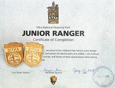 100 Junior Ranger Badges You Can Earn at Home-Sitka National Park Junior Ranger Badge for Kids Alaska National Parks, Glacier Bay National Park, Katmai National Park, California National Parks, Yellowstone National Park, Girl Scout Activities, Activities For Girls, Alaska Travel, Alaska Cruise
