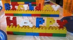 Why didn't I think of this for our LEGO party?