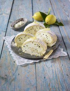 Das Rezept für Italienische Zitronen-Biskuitrolle