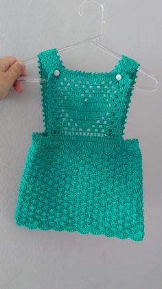 New Crochet Bikini Pattern Kids 32 Ideas Crochet Dress Girl, Crochet Baby Dress Pattern, Knit Baby Dress, Baby Girl Crochet, Crochet Baby Clothes, Baby Knitting Patterns, Knit Crochet, Crochet Diagram, Knitting For Kids