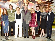 The gang's all here! The Mockingjay cast teamed up for a London photocall on Nov. 9.
