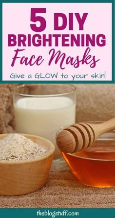 Is your skin looking dull and lifeless? Try these homemade brightening face masks and get glowing skin instantly using mostly ingredients from your kitchen. Aloe Vera Face Cream, Aloe Vera For Face, Homemade Facial Mask, Homemade Facials, Face Brightening, Face Masks For Kids, Skin Mask, Dull Skin, Diy Face Mask