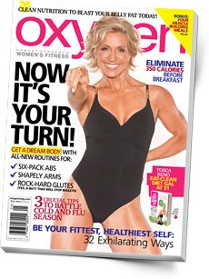 Oxygen 136: November 2010 with Cover Girl Tosca Reno. Click through to read our web bonuses for this issue: Roasted Root Veggies, 5 Ways to Rev Your Fat Loss, Muscle Up with Broccoli, and Boost Your Heart Health!