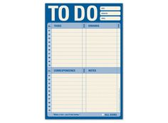 This To Do Pad keeps me organized – Notepad for Your Personal To Do List by Knock Knock #KnockKnockStuff