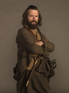 Angus Mohr (Stephen Walters), personal attendant and aide to clan chieftan Colum Campbell MacKenzie. | Outlander on Starz
