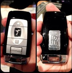 The new Rolls Royce key is dope #swag
