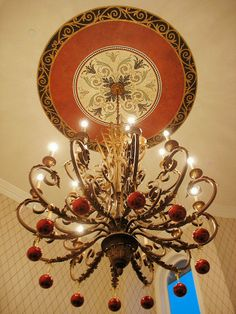 Ceiling medallion using Modellos