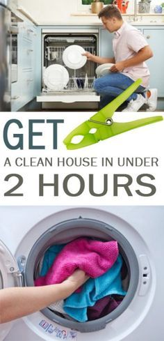Get a Clean House in Under 2 Hours - 101 Days of Organization