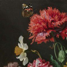 Stilleven met bloemen in een glazen vaas, Jan Davidsz. de Heem, 1650 - 1683 - Mijn Producten-Collected Works of Flow Studio - All Rijksstudio's - Rijksstudio - Rijksmuseum
