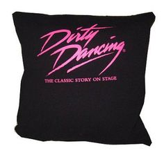 Dirty Dancing on Broadway movie 80s recycled tshirt by upcycled2, $25.00