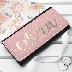 Personalised Chic Ladies Wallet