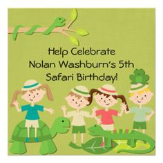 @@@Karri Best price          Customized Kids Safari Birthday Invites           Customized Kids Safari Birthday Invites you will get best price offer lowest prices or diccount couponeReview          Customized Kids Safari Birthday Invites Online Secure Check out Quick and Easy...Cleck Hot Deals >>> http://www.zazzle.com/customized_kids_safari_birthday_invites-161482743350854901?rf=238627982471231924&zbar=1&tc=terrest