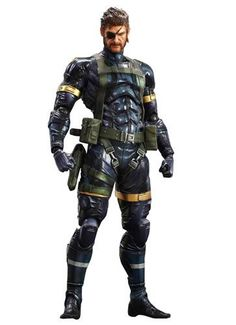 """Square Enix """"Metal Gear Solid V"""" Play Arts Kai Solid Snake Action Figure Brand New Official Item. Size is approximate, Please email for more details. May Contain Small Pieces, For Collection Not recommended for small children. New Joint System New Joint System Interchangeable head, hands, weapons parts New Joint System New Joint System Interchangeable head, hands, weapons parts Display stand included http://www.newactionfigures.com/2016/01/17/square-enix-metal-gear-solid-v-play-a.."""