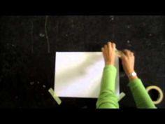 'Schrijfdans' in scheerschuim op muziek van Vivaldi - YouTube