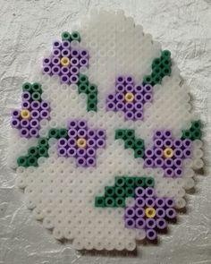 Påskeæg blomster hama perler
