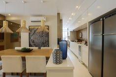 sala de jantar + cozinha #fernandamarques