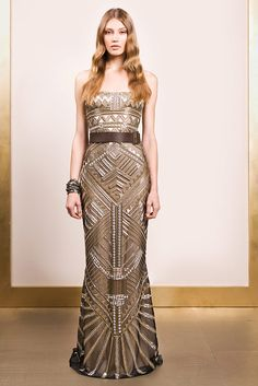 Reem Acra | Spring 2011 Ready-to-Wear Collection | Style.com