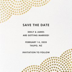 Exclusive online save the dates from top fashion brands like Vera Wang. Request mailing addresses or link to your wedding website. Wedding Save The Dates, Save The Date Cards, Save The Date Online, Birthday Invitations, Wedding Invitations, Paperless Post, 30th Birthday, Birthday Ideas, Wedding Website
