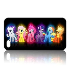 My Little Pony Princess Black Hard Case Skin Cover for iPhone 5 iPhone 4 4S | eBay