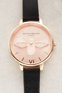Rosegold Moulded Bee Watch #anthroregistry