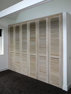 Extra bedroom storage the doors 53 ideas House, Home, Bedroom Wardrobe, Home Bedroom, Extra Bedroom, Cupboard Storage, Storage House, Build A Closet, Louvre Doors