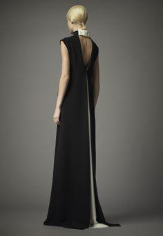 Vestido de Valentino. #casamento #vestido #convidada #preto #branco #Valentino