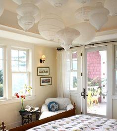 DIY ceiling treatment