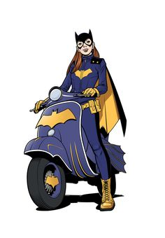 BatGIrl! by angryrooster on deviantART