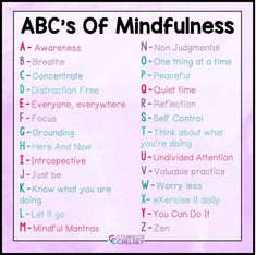 Mindfulness Small Group Activities For School Counseling — Counselor Chelsey   Simple School Counseling Ideas