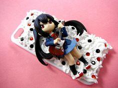 Anime School Girl Phone Case Cartoon 3D Phone by CaravanOfCases