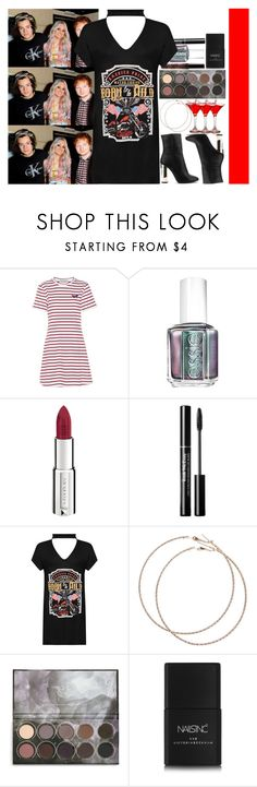 """""""With Harry Styles, Lou Teasdale And Ed Sheeran"""" by angelbrubisc ❤ liked on Polyvore featuring Être Cécile, Essie, Givenchy, WearAll, Wet Seal and Nails Inc."""