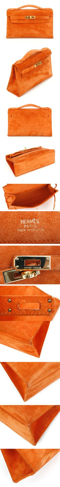 ~Hermes Mini Pouchette Orange | The House of Beccaria#