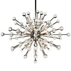 Regina Andrew Constellation Nova Nickel Chandelier RA558443