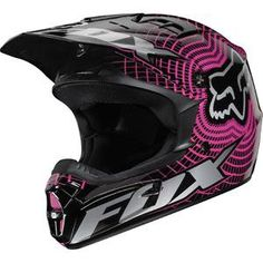 Fox Racing Women's V-1 Vortex Helmet - Dirt Bike Motocross - Motorcycle Superstore
