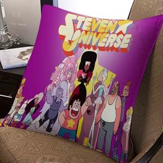 Steven Universe All Characters pillow case two sides 20x20 inches