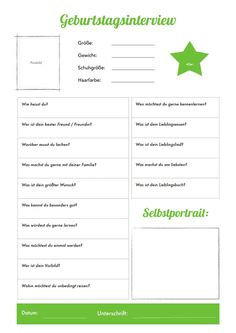 DAS BIN ICH ! | Poster | Pinterest | Kindergarten, German and ...
