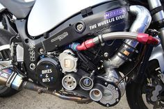 """Supercharger fitted to a Suzuki hayabusa owned by Dave """"Dodge"""" Rogers by bm1551cc on Flickr. / All Things Motorcycle"""