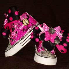 Personalized MINNIE MOUSE Birthday Shoe (CONVERSE)